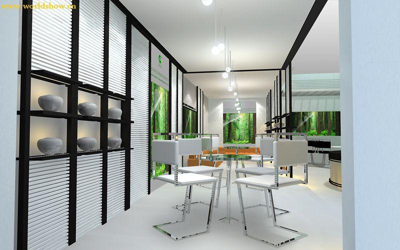 室内展厅设计制作效果图欣赏