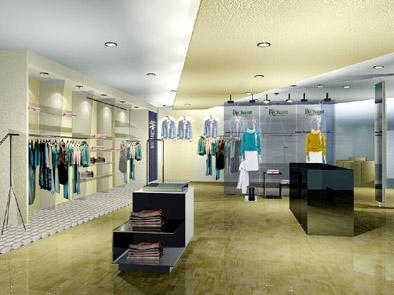 國際服裝博覽會展臺展位設計搭建效果圖欣賞