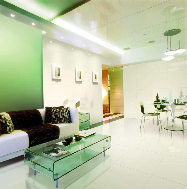 客厅装修:地砖pk地板