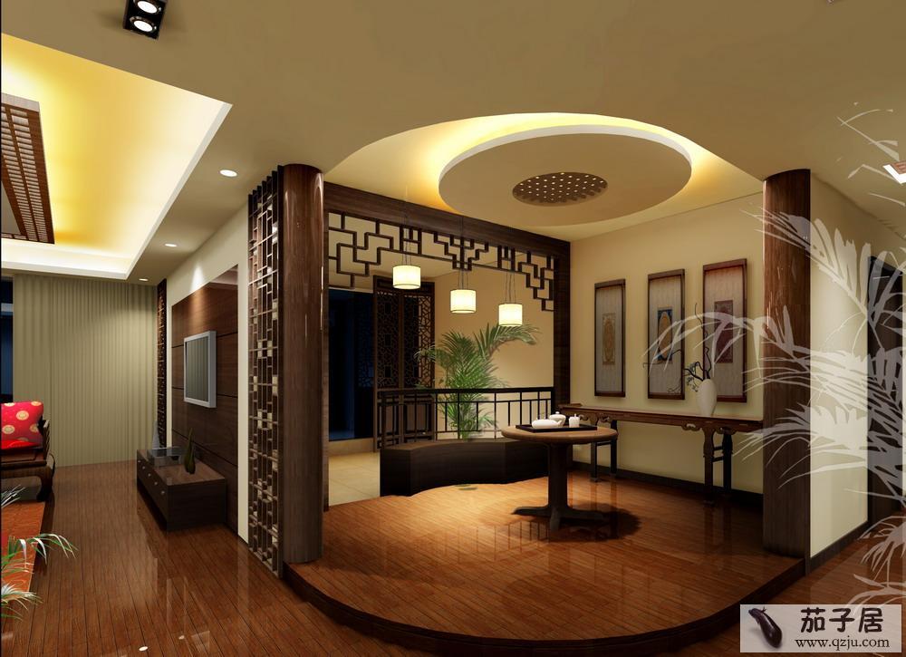 客厅玄关隔断装修效果图   客厅玄关隔断装修效果图   2012