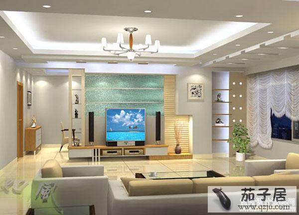 客厅装修电视背景墙效果图精选