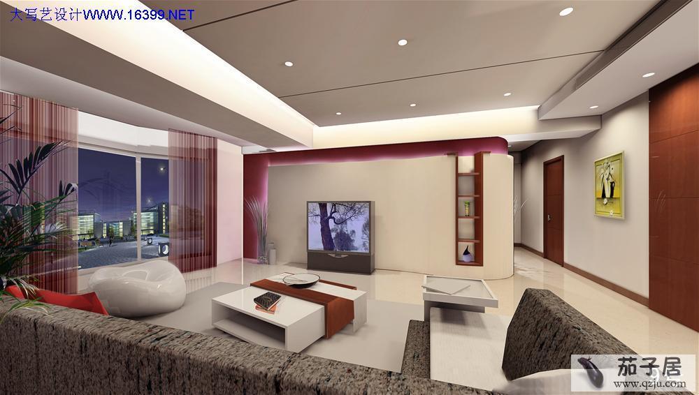 客厅装修电视背景墙效果图