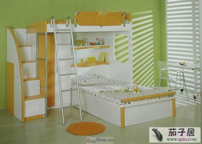 儿童房组合家具效果图