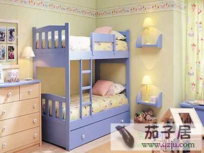 儿童房双人床装修效果图