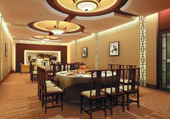 饭店门面及室内装修效果图欣赏 中国展览设计