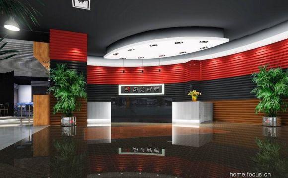 美发店室内装修效果图欣赏 - 中国展览设计网|国外||.