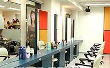 高級發廊裝潢裝修設計效果圖片欣賞