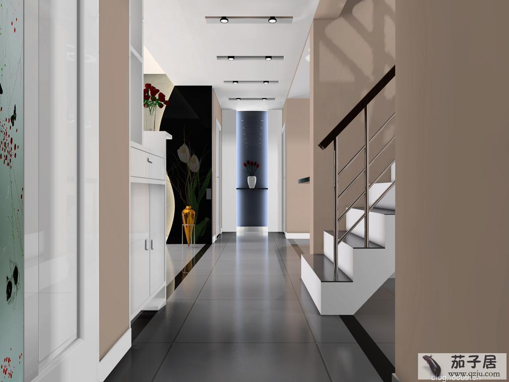 进门玄关吊顶效果图 - 中国展览设计网|国外展台搭建|展览搭建|展位设