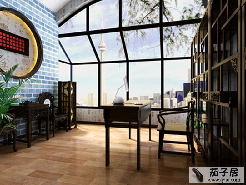 别墅中式风格效果图 - 中国展览设计网 国外展台搭建