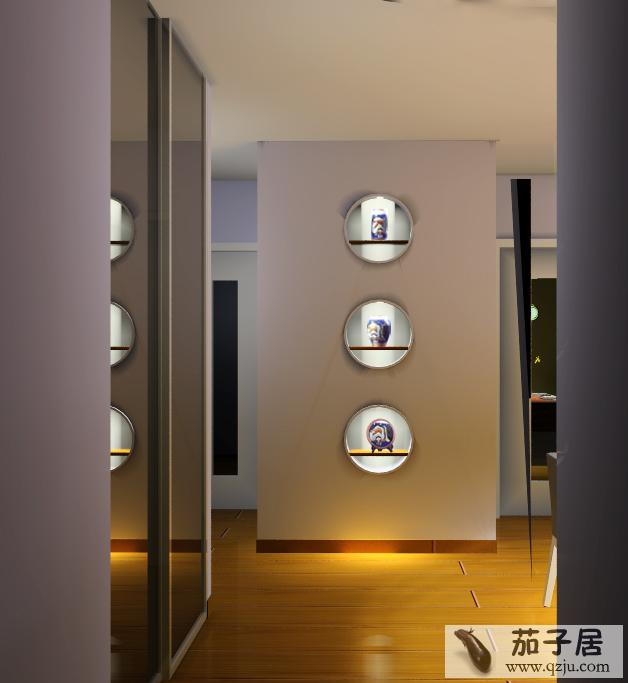 玄关墙面设计图片