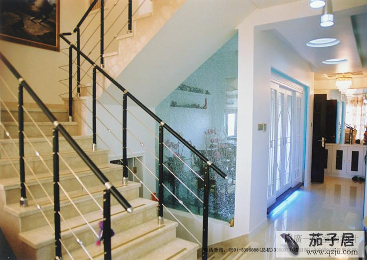 跃层效果图楼梯设计