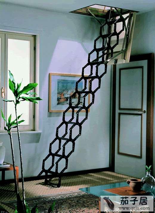 铁艺楼梯实拍图 - 中国展览设计网|国外展台搭建
