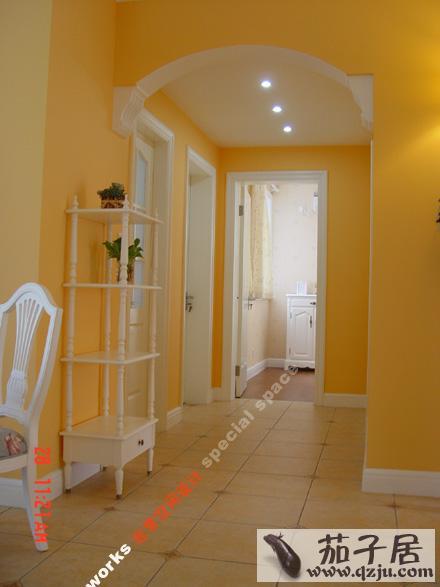 进门玄关装修效果图   入户门厅吊顶怎么设计   玄关吊顶