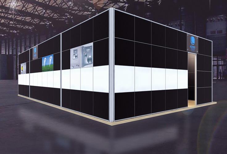 超精典展览展位设计效果图欣赏