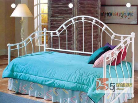 舒适温馨欧式古典布艺沙发床 (图文)