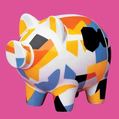 可爱的小猪存钱罐〔组图〕