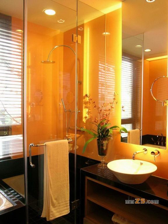 现代温馨中式样板房 别墅装修实景图片85张