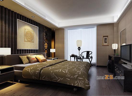 一套仿古现代中式家居装修方案6张效果图