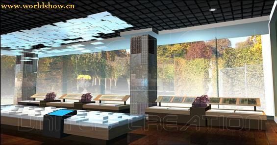 艺术展厅设计搭建效果图欣赏