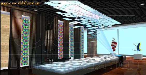 展厅展台设计搭建效果图欣赏