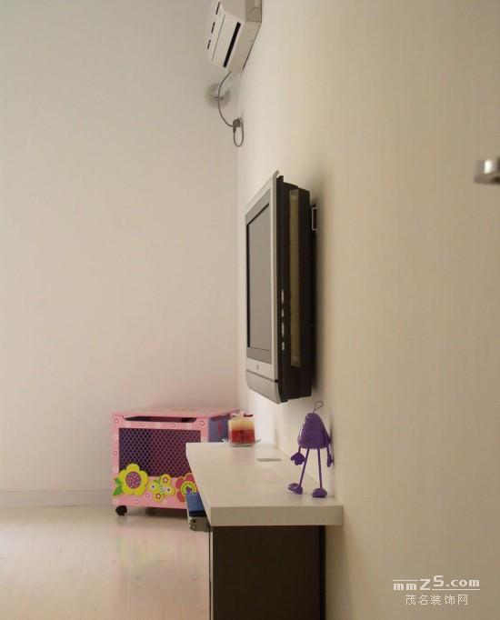 105平方白色調時尚簡潔家居裝修設計圖(25張)