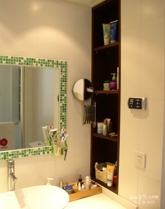 105平方白色调时尚简洁家居装修设计图(25张)