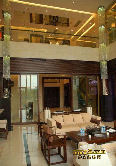 欧式混搭风格现代豪宅装修设计图片