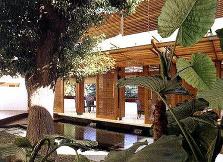 日式别墅外观效果图 日式别墅庭院50 日式平面雕琢
