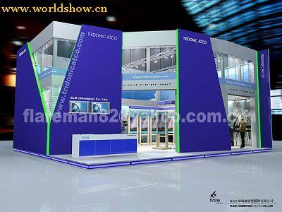 国内展台展位设计效果图欣赏7 - 中国展览设计网|国外