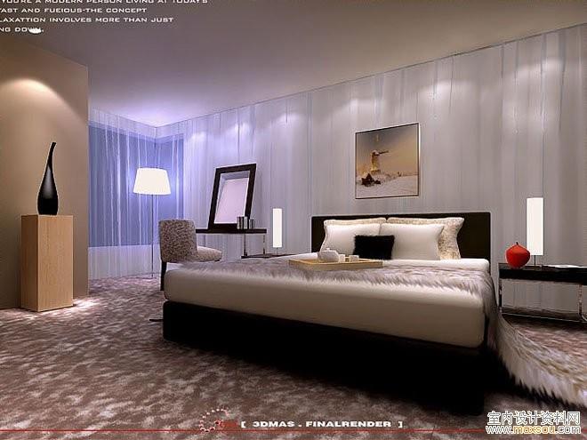 卧室装修常识和效果图欣赏 中国展览设计网国外