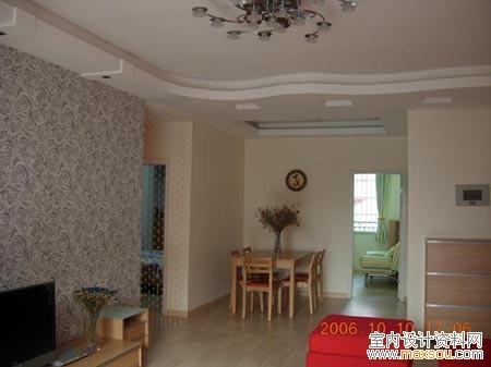 样板间:室内装修效果图设计欣赏