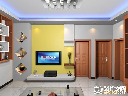 室内客厅吊顶效果图图片大全 客厅装修效果图设计图 室内设