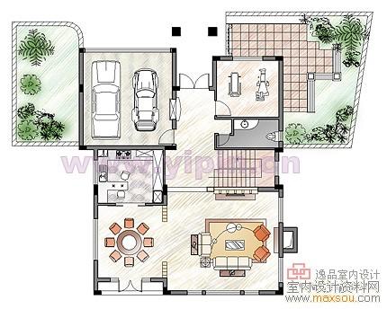 室内设计平面图