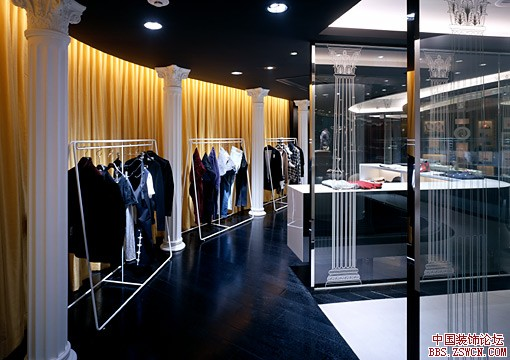 时尚个性服装店面装修设计效果图欣赏