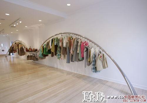 服装店展示设计效果图欣赏2