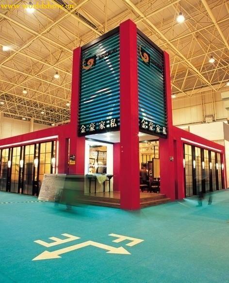 商业空间展台设计效果图欣赏