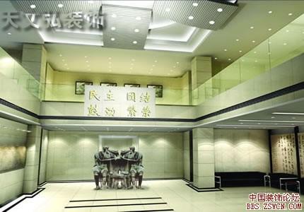 企业形象墙展台设计效果图欣赏4