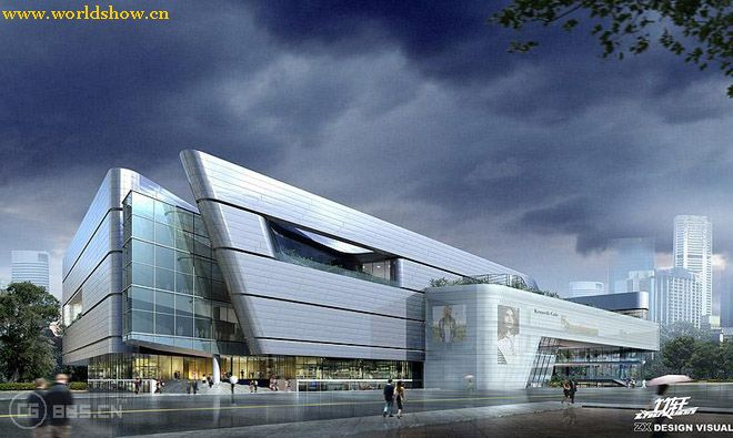 建筑设计效果图欣赏4