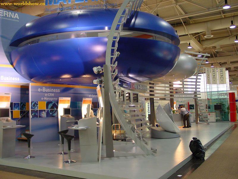 德国展览展台搭建设计效果图欣赏17