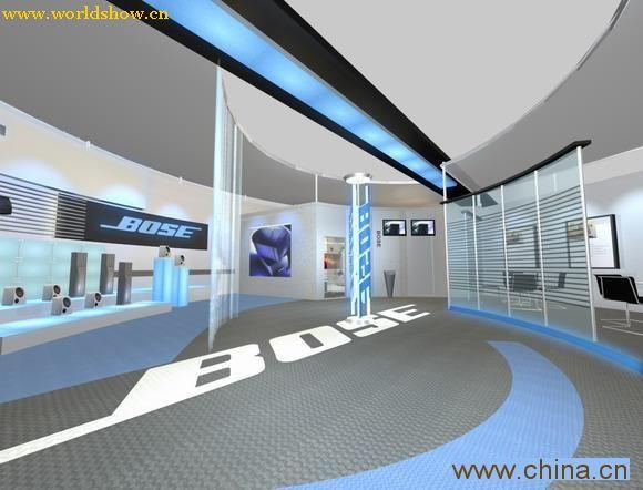 bose展厅设计效果图欣赏
