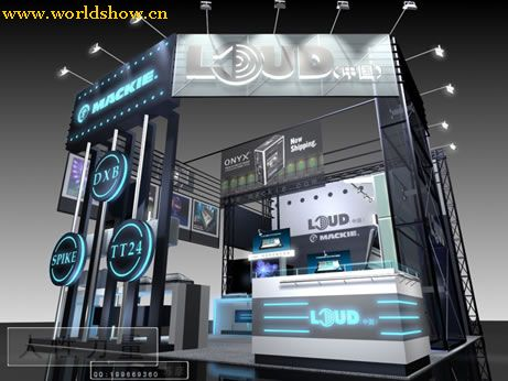 特色展台展位设计效果图欣赏 - 中国展览设计网|国外