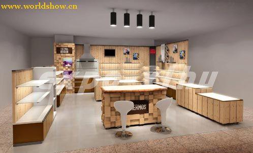 超经典服装食品展柜设计效果图欣赏