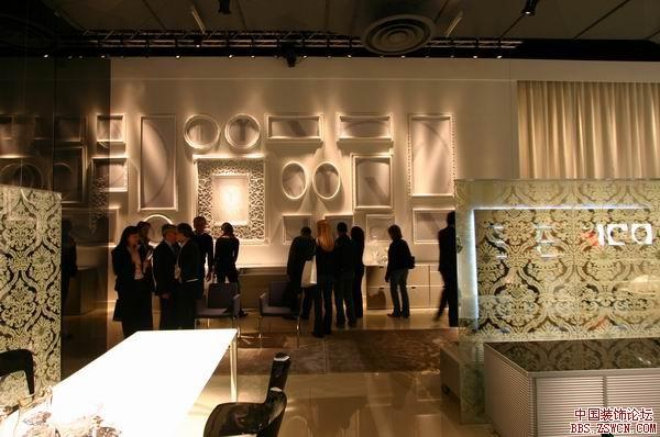 意大利米兰家具展实景图欣赏1 - 中国展览设计网 国外