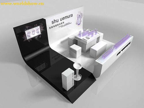 uemura展台展示设计效果图欣赏