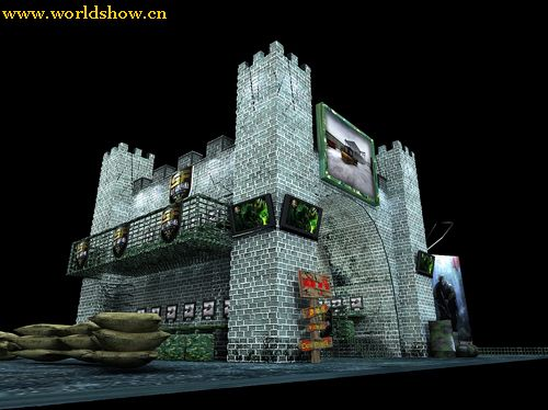 特种部队城堡设计制作效果图欣赏