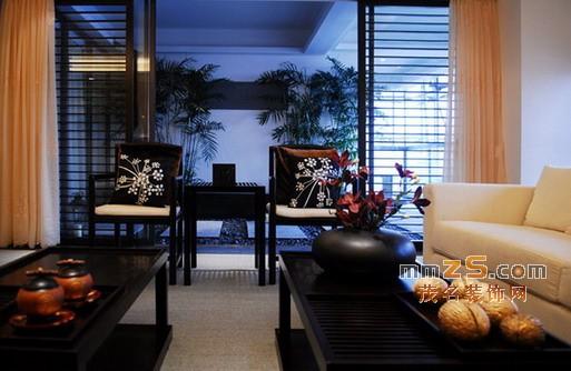 中式風格樣板房 濃郁中國風家居裝修圖片