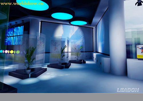 超個性中國移動展臺展示廳設計效果圖欣賞
