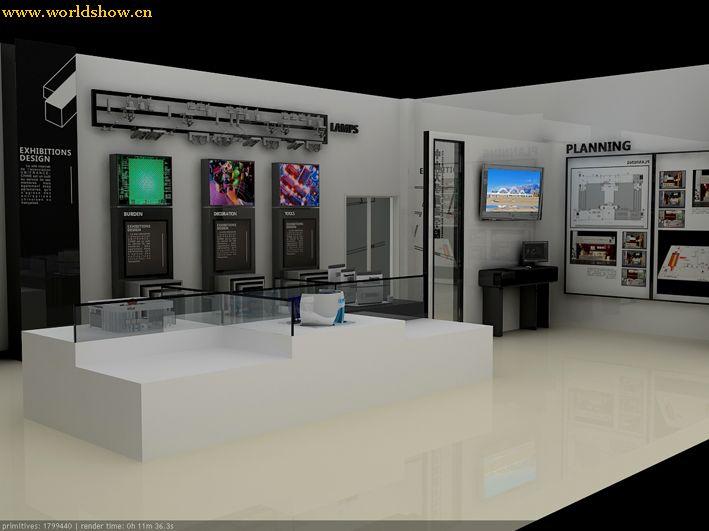 会展专业实验室展台设计制作效果图欣赏