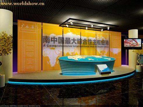 展厅设计制作效果图欣赏 - 中国展览设计网|国外展台