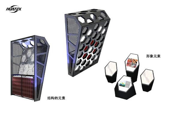 顿力展台展示设计效果图欣赏 动手网